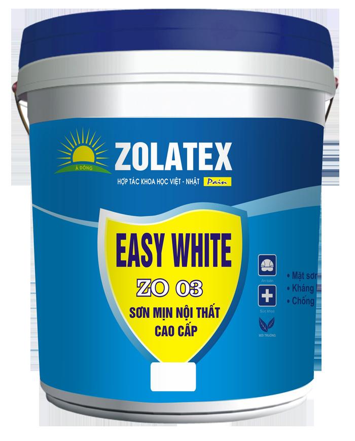 Sơn mịn nội thất cao cấp Easy White ZO 03
