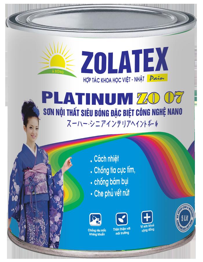 Sơn nội thất bóng ngọc trai Weather Silk ZO 05